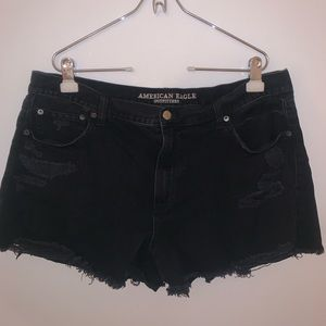 American Eagle High-rise Denim Shorts